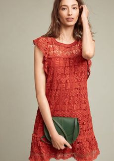 Anthropologie Brindisi Lace Tunic Dress