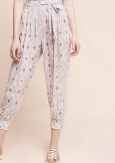 Anthropologie Button-Hem Joggers