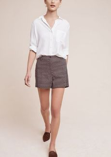 Buttoned High-Rise Shorts