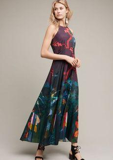 Anthropologie Cadence Printed Maxi Dress