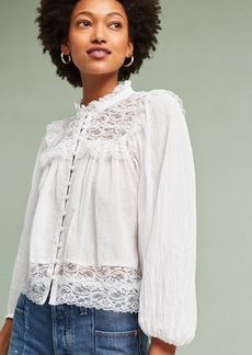 Anthropologie Callie Lace Blouse