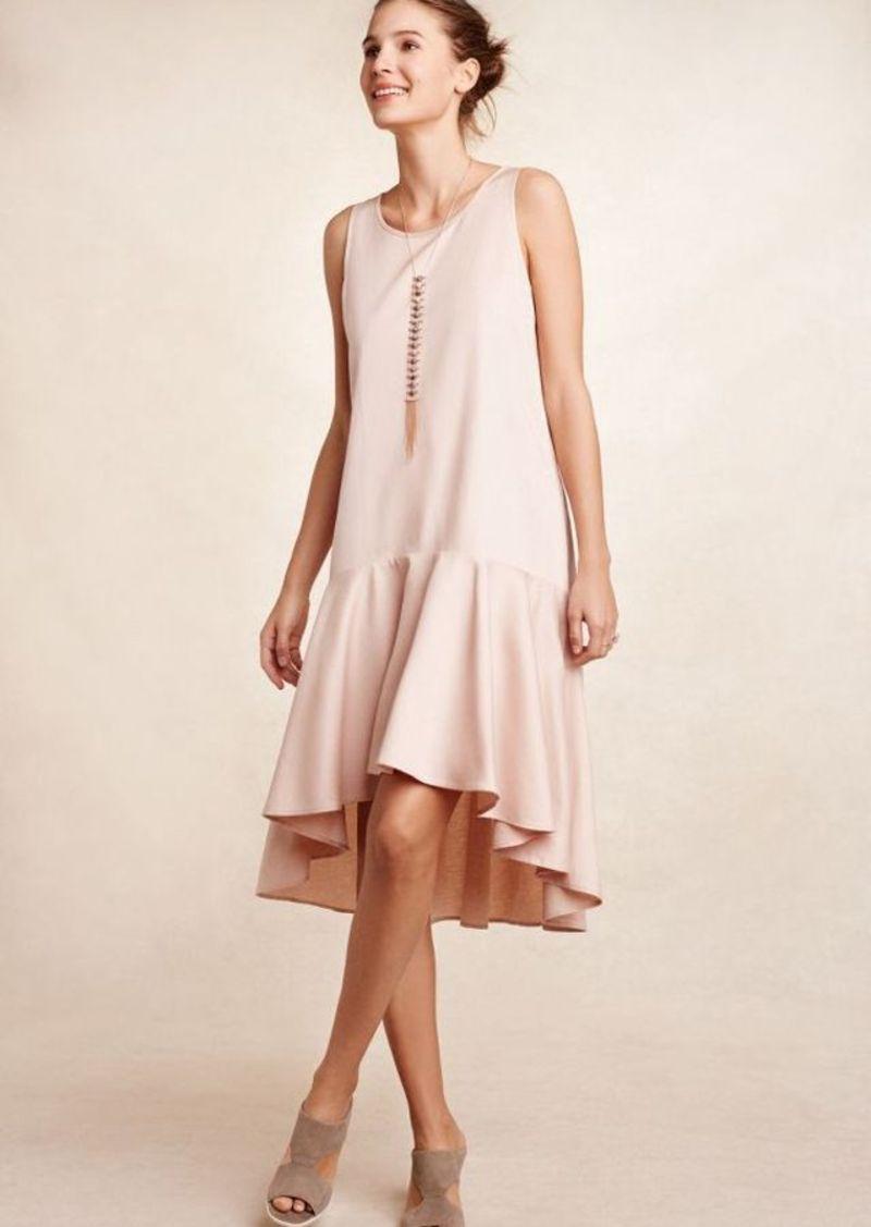 Anthropologie Camellia Dropwaist Dress