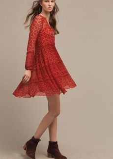 Anthropologie Canna Swing Dress