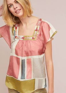 Carre Silk Blouse