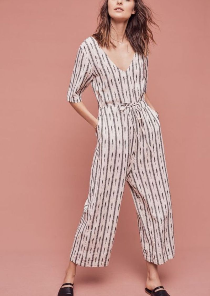 Anthropologie Catrinna Ikat Jumpsuit