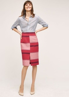 Anthropologie Catteau Pencil Skirt