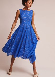 Anthropologie Cerulean Sky Dress