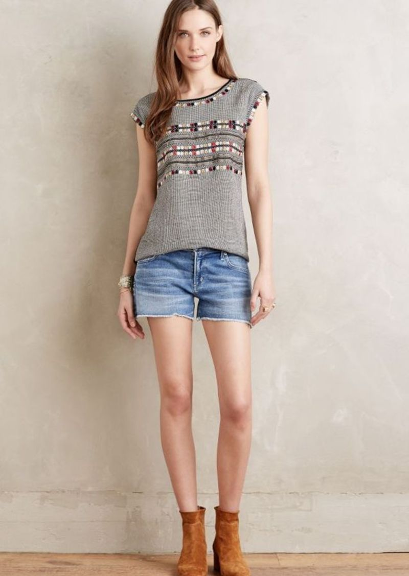 Anthropologie Citizens of Humanity Ava Cut-Off Shorts