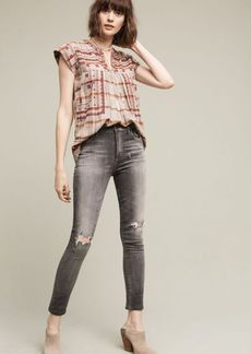 Anthropologie Citizens of Humanity Carlie High-Rise Cropped Skinny Jeans