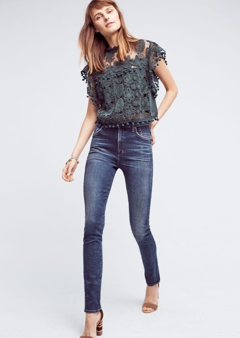 Anthropologie Citizens of Humanity Carlie High-Rise Skinny Jeans