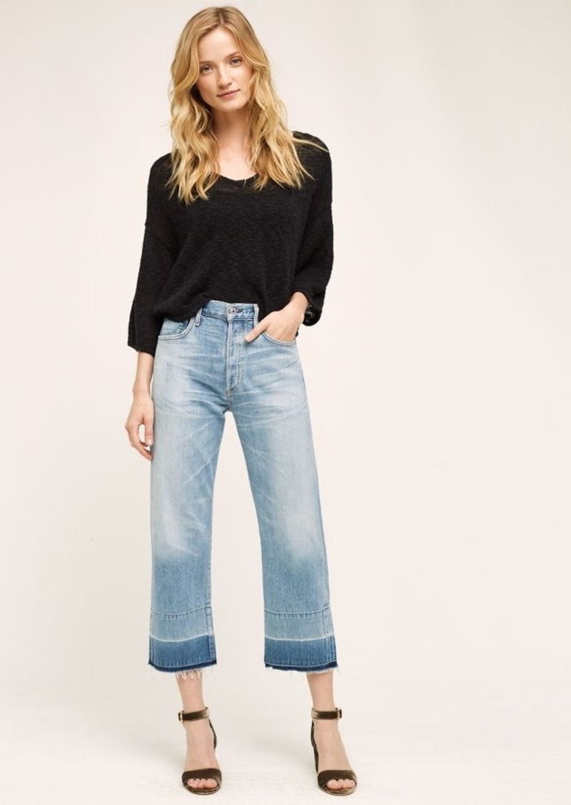 Anthropologie Citizens of Humanity Cora High-Rise Crop Jeans