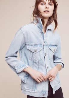 Citizens of Humanity Embroidered Denim Jacket