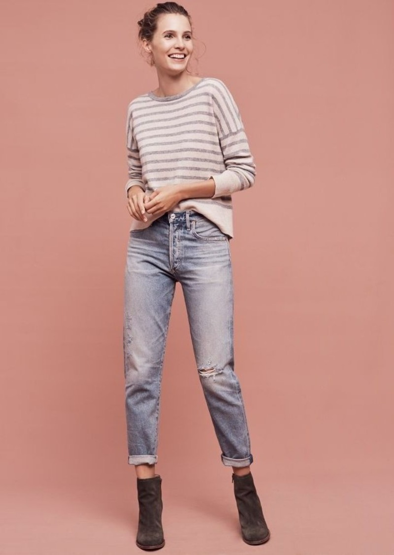 Anthropologie Citizens of Humanity Liya Ultra High-Rise Straight Jeans