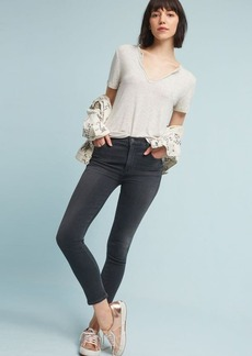 Anthropologie Citizens of Humanity Rocket Crop High-Rise Skinny Jeans