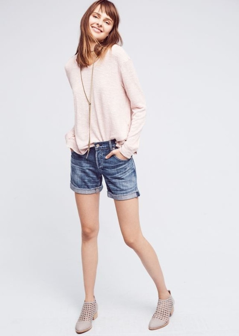 Anthropologie Citizens of Humanity Skyler Low-Rise Loose Shorts