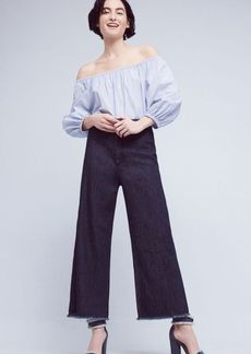 Citizens of Humanity Ultra-High Rise Cropped Palazzo Jeans