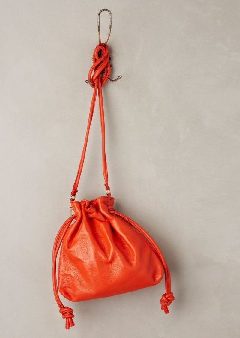 Anthropologie Clare V. Henri Leather Pouch