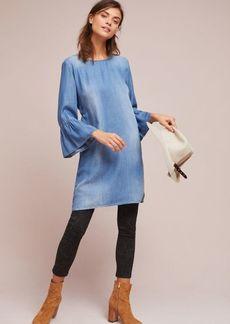 Cloth & Stone Flutter-Sleeve Tunic Dress