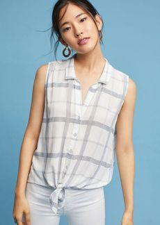 Cloth & Stone Tie-Front Buttondown