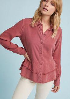 Cloth & Stone Tiered Buttondown