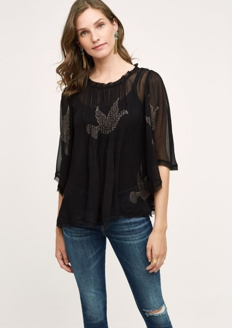 Anthropologie Colombe Blouse