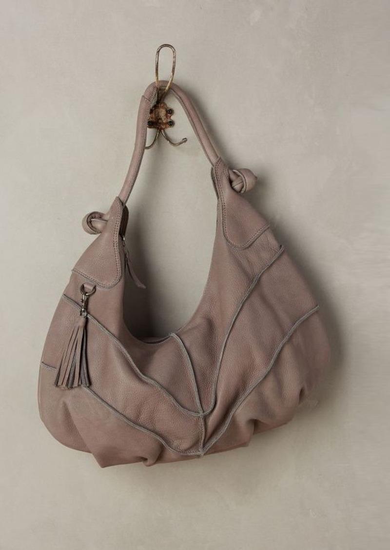 Anthropologie Coralie Seamed Hobo Bag