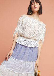Corfu Lace Pullover