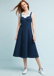 Corseted Midi Dress