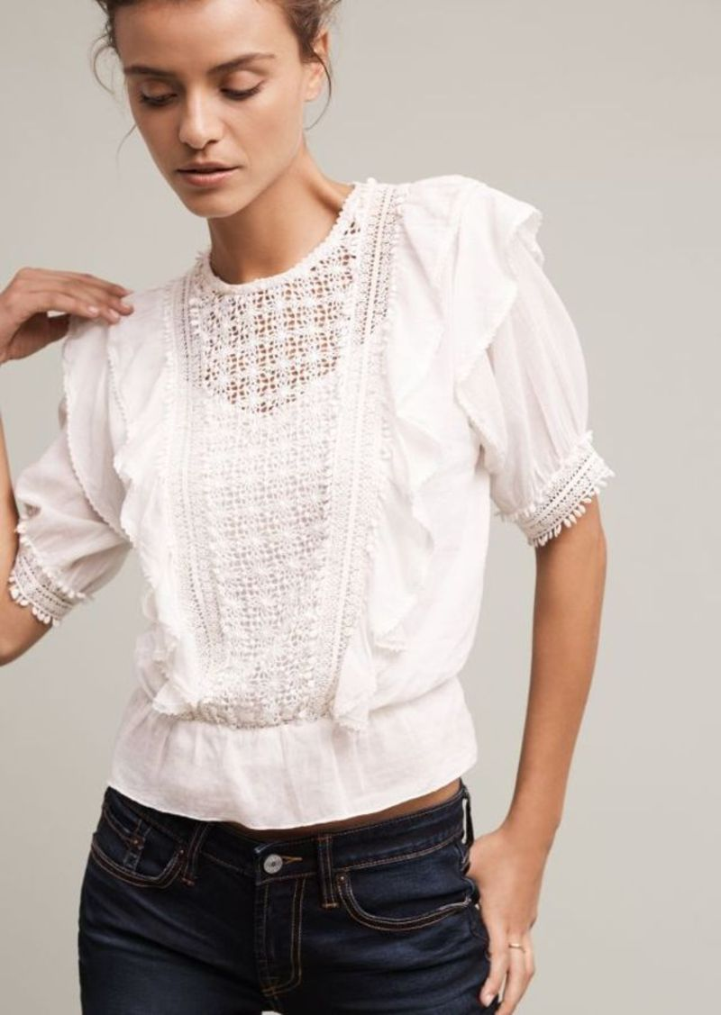 Anthropologie Country Gables Blouse