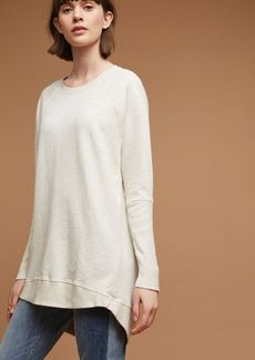 Anthropologie Crew Neck Tunic Sweatshirt