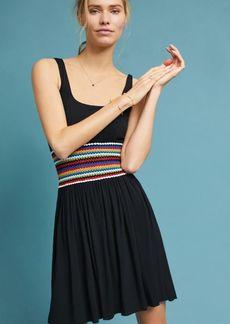Crochet-Waisted Dress