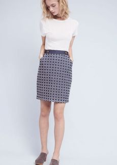 Anthropologie Crocheted Pencil Skirt