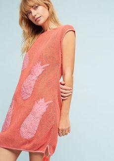 Anthropologie Crocheted Pineapple Dress