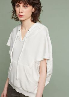 Anthropologie Cropped Cocoon Sweatshirt