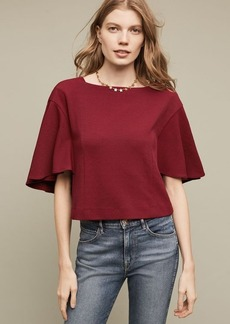 Anthropologie Cropped Viv Top