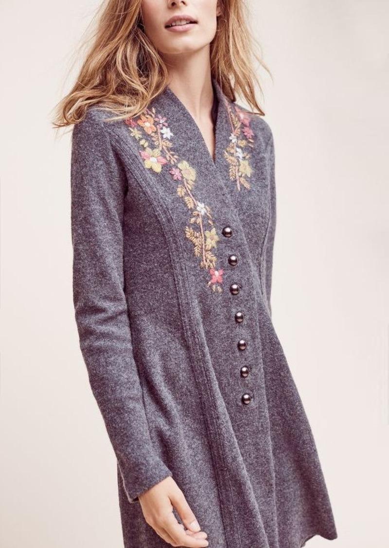 Anthropologie Cynthia Wool Sweater Jacket