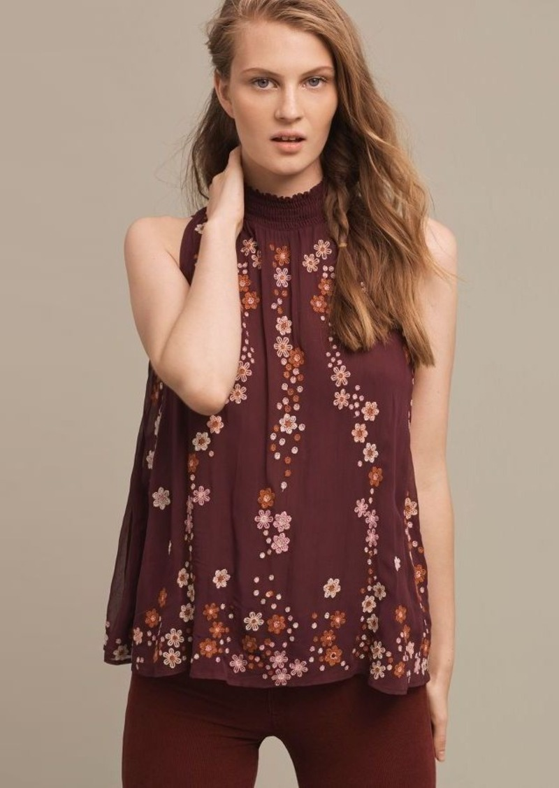 Anthropologie Daisy Chain Blouse