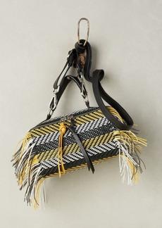 Anthropologie Daniella Lehavi Fringed Mini Handle Crossbody Bag