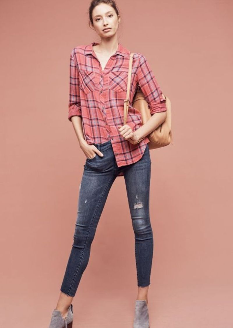 Anthropologie DL1961 Margaux Mid-Rise Skinny Ankle Jeans
