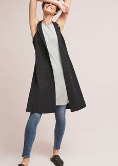 Double-Buttoned Blazer Dress