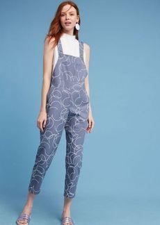 Anthropologie Dusen Dusen Curl Printed Jumpsuit