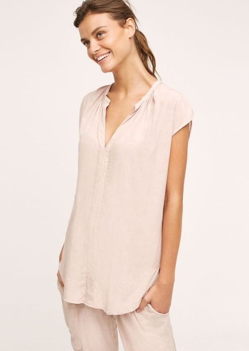 Anthropologie Earthen V-Neck Top