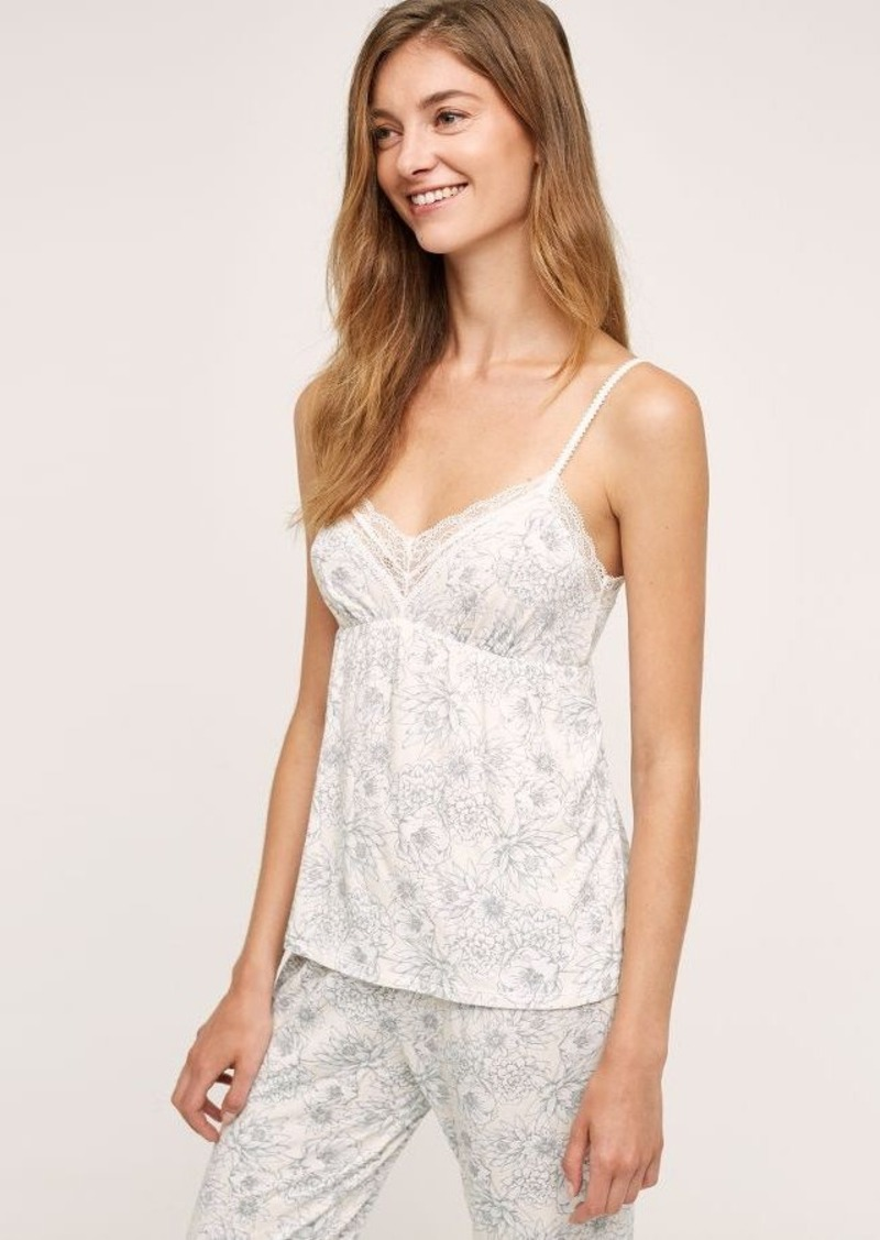 Anthropologie Eberjey Wildflower Cami