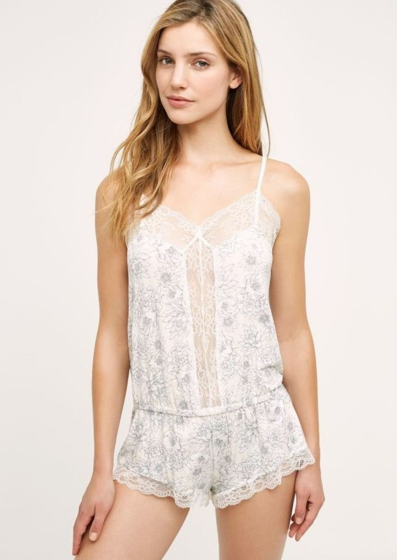 Anthropologie Eberjey Wildflower Romper
