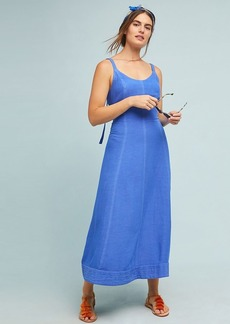 Anthropologie Elseby Lace-Up Dress