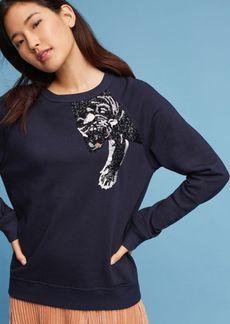 Embellished Panther Sweatshirt