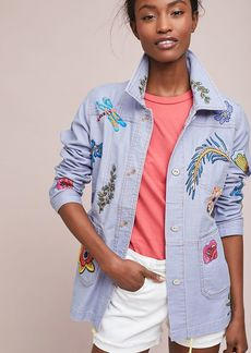 Embroidered Patch Jacket