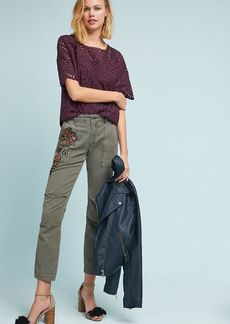 Embroidered Wanderer Utility Pants