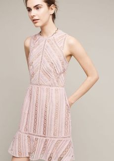 Anthropologie Emilia Lace Mini Dress
