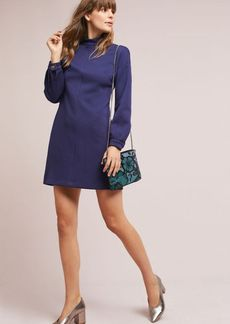 Evan Mock Neck Dress